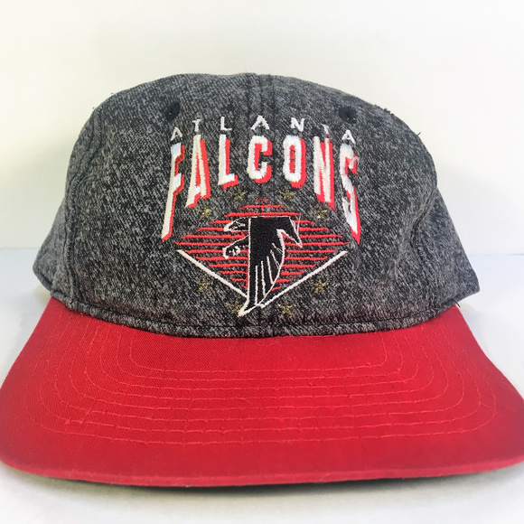 a98305ab3 Atlanta Falcons NFL Snapback Hat Cap Denim/Red